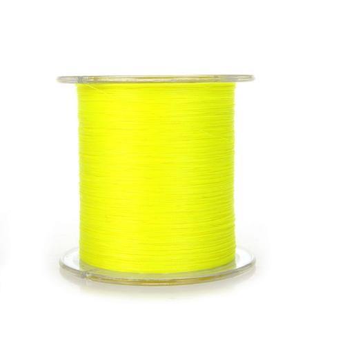 300M 30LB 0.2mm pesca linea forte intrecciato 4 fili giallo