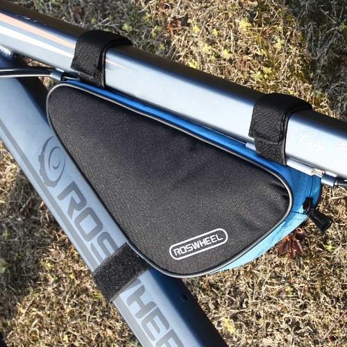 ROSWHEEL トライアングルバッグ トップチューブバッグ 自転車 サイクリング 全4色 1.5L【並行輸入】