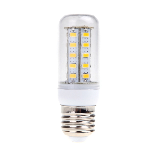 Lixada 220V E27 13W 36 5730 SMD LED Corn Light Bulb Lamp Warm White Light