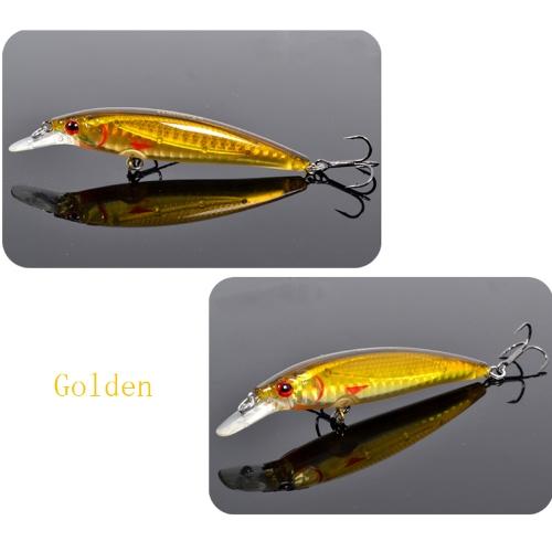 Trulinoya DW11 95 mm 9g 1m Mini manovella pesca con esca duro con BKK ganci dorato