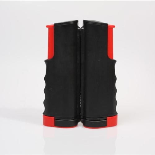 Tragbare einziehbare Teleskop Tischtennis Net Rack Ersatz Ping Pong Kit schwarz