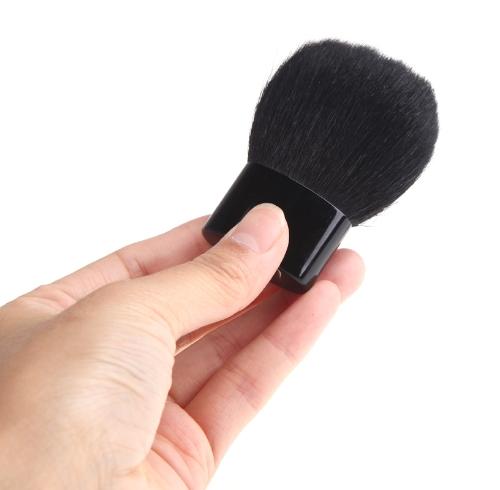 Cara cepillo cosmética maquillaje polvo herramientas con bolsa de dinero de bolsillo caso