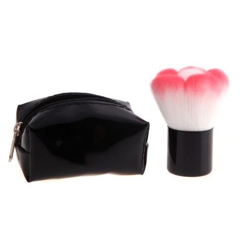 Про грибные румяна макияж кисти Кабуки косметической электроинструмента с черный мешок