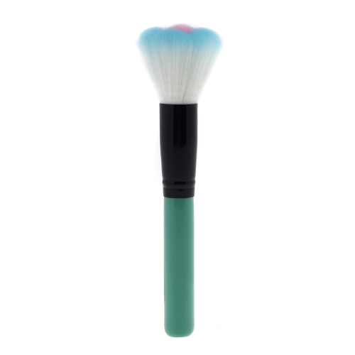 Handle Type Kabuki Makeup Tool Multifunctional Cosmetic Brush Blue