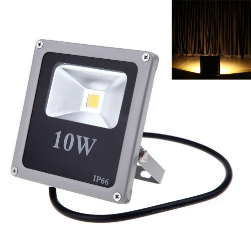 Ultrathin 10W 110-250V LED Flood Light Waterproof Outdoor Spot Lamp IP66 Warm White