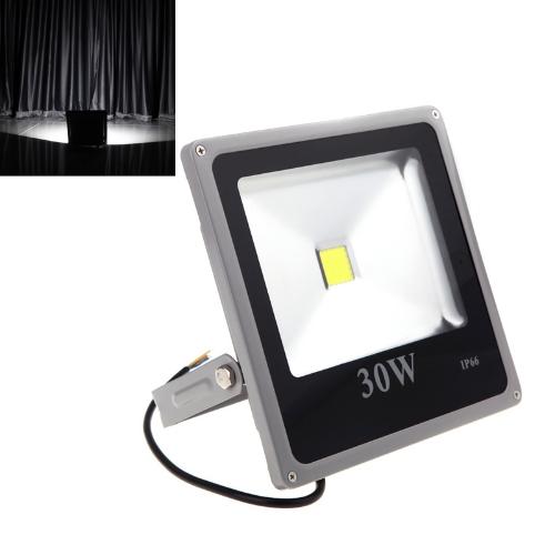Ultrathin Outdoor 30W 110-250V LED Spot Light Outdoor Waterproof Flood Lamp White