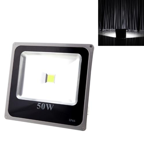 Ультратонкий 50W 110-250V Светодиодные пятно света Открытый водонепроницаемый наводнение Сад Открытый лампа белого