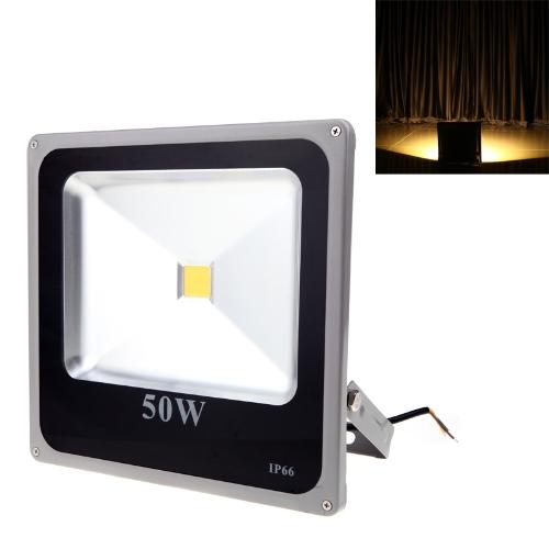 Ultrathin 50W 110-250V LED Spot Light Outdoor Waterproof Flood Garden OutdoorLamp Warm White