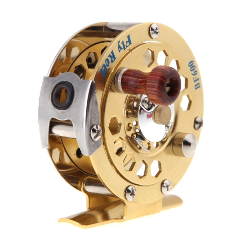 Full Metal Fly Fisch Reel Ehemalige Ice Fishing Vessel Rad BF600A 0,50 / 100 (mm / m) 1: 1