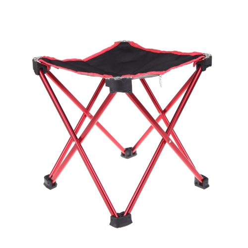 Outdoor Foldable Folding Fishing Chair Tool Square Camping Stool Size L