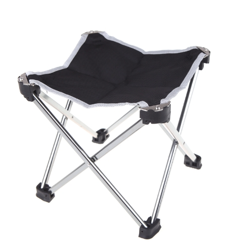 Outdoor Foldable Folding Fishing Chair Tool Square Camping Stool Size S