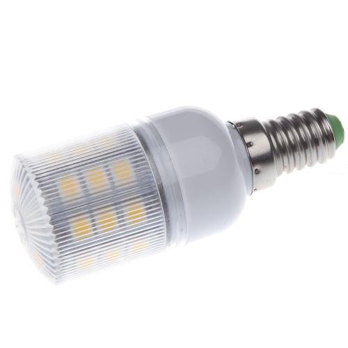 Maíz LED luz lámpara bombilla E14 27 5050 SMD 3.6W cálido blanco 230V