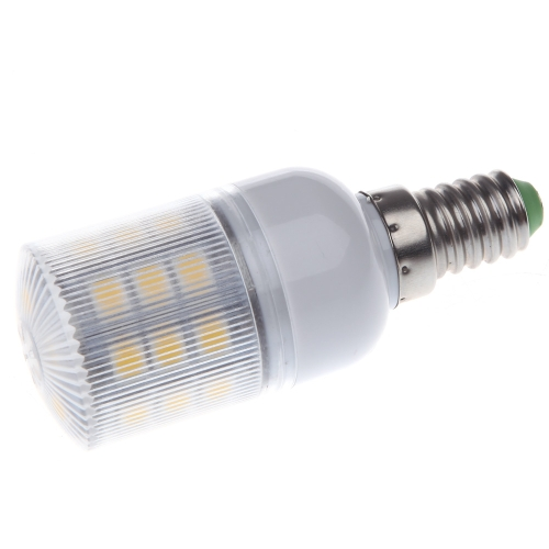 LED Mais Lampe Glühlampe E14 27 5050 SMD 3.6W Warm weiß 230V