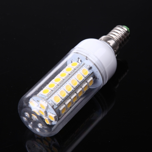 LED Corn Light Lamp Bulb E14 48 5050 SMD 5W Warm White 230V