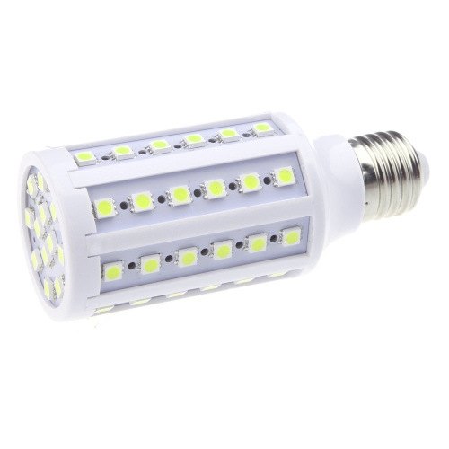 E27 220V LED Lamp Bulb Light 5050 SMD 12W 60 LEDs Corn Energy Saving 360 Degree White