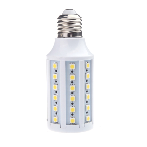 E27 220V LED Corn Lamp Bulb Light 5050 SMD 12W 60 LEDs Energy Saving 360 Degree Warm White