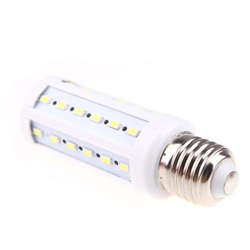 E27 8W 5730 SMD 42 Led 6500 K Mais Birne Lampe Energiesparen Licht 360-Grad (AC 220V) weiß