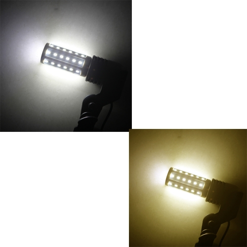 E27 8W 5730 SMD 42 Led Corn Bulb Lamp Energy Saving Light 360 Degree (AC 220V) Warm White