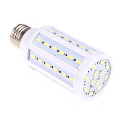 E27 12W 5730 SMD 60 привело кукурузы колбы лампы энергосберегающие белого света 360 градусов (220)