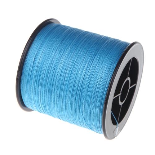 500 M 30LB 0,26 mm pesca linea forte PE intrecciato 4 fili blu