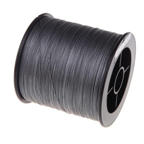 500M 30LB 0,26 мм рыбалка линия сильные PE плетеный 4 нитей серый