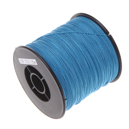 300 M 100LB 0,55 mm pesca linea forte PE intrecciato 4 fili blu