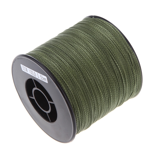 300M 100LB 0.55mm Fishing Line Strong PE Braided 4 Strands Green
