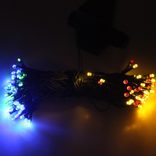 Multicolor Colorful 17M 100LED Solar Power Christmas Xmas String Light Colorful Wedding Party Garden Tree Fairy Lights