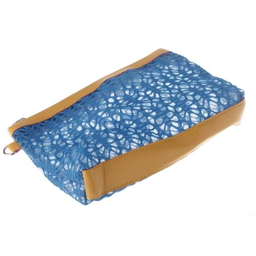Kosmetyki Hollow Makijaż Pojemnik w postaci torebki Torebka niebieski