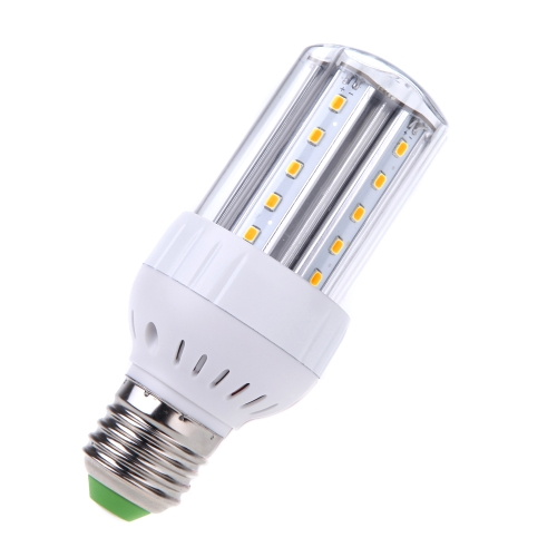E27 5W LED 30 2835 SMD Energy Saving Corn Light Bulb Lamp 360 Degree Warm White 100-240