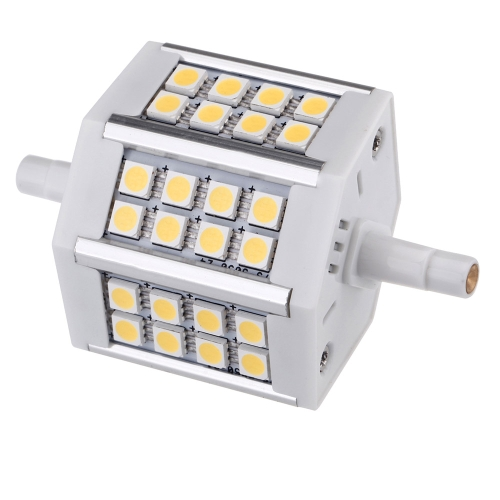 R7S 5W 24 LEDs 5050 SMD Energy Saving Light Bulb Lamp 78mm Warm White 100-240V Replace Halogen Flootlight