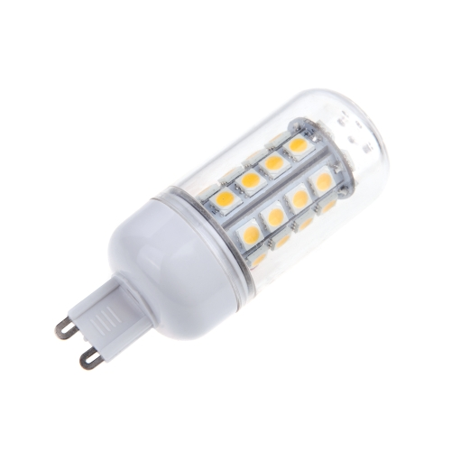 G9 5W 5050 SMD 36 LED Corn Light Bulb Lamp Energy Saving 360 Degree Warm White 220-240V