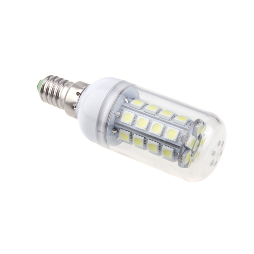 E14 5W 5050 SMD 36 LED Corn Light Bulb Lamp Energy Saving 360 Degree White 220-240V