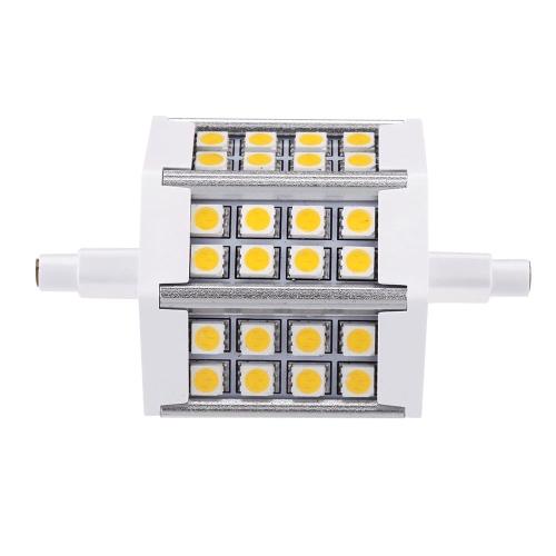 R7s 85-265V 5W Светодиодные 24 5050 SMD лампы энергосберегающие лампы свет лампы наводнения теплый белый