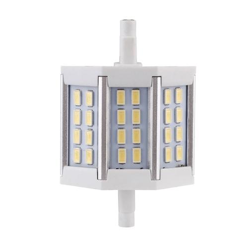 R7s 6W светодиодные 24 5730 SMD наводнения свет лампы лампы энергосберегающие 85-265V теплый белый