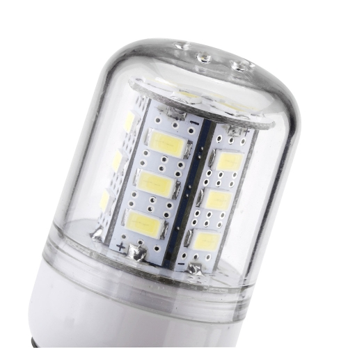 E27 4W 5730 24 LED SMD maíz Bombilla luz lámpara ahorro 200-240V blanco