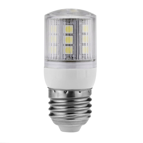 Stripe Cover LED Corn Light Bulb Lamp E27 21 5050 SMD 3W 230V White