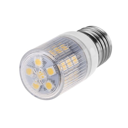 Stripe Cover LED Corn Light Bulb Lamp E27 27 5050 SMD 3.6W 230V Warm White