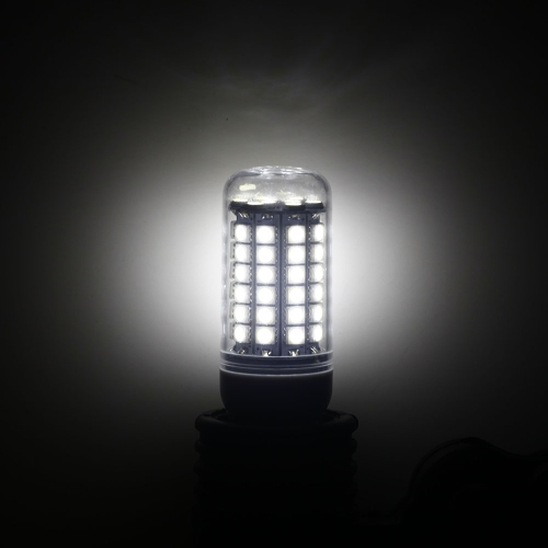 Transparent Cover LED Corn Light Bulb Lamp E27 69 5050 SMD 6.5W White