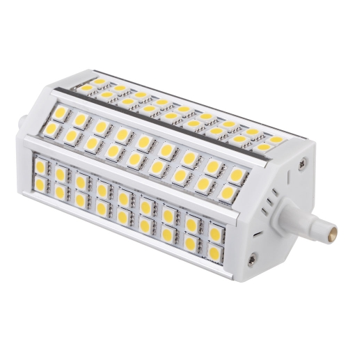 R7S 10W 54 LEDs 5050 SMD Energy Saving Light Bulb Lamp 135mm Warm White 100-240V Replace Halogen Floodlight