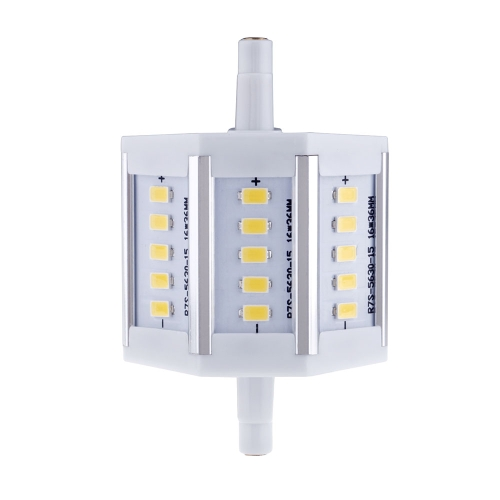 R7S 5W 15 LEDs 5630 SMD Energy Saving Light Bulb Lamp 78mm Warm White 100-240V Replace Halogen Floodlight