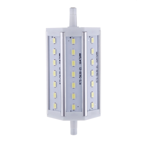 R7S 7W 21 LEDs 5630 SMD Energy Saving Light Bulb Lamp 118mm White 100-240V Replace Halogen Floodlight