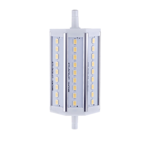 R7S 8W 27 LEDs 5630 SMD Energy Saving Light Bulb Lamp 118mm Warm White 100-240V Replace Halogen Floodlight