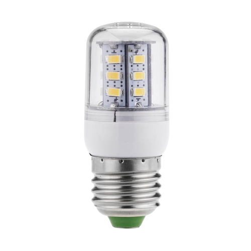 220V E27 5W 24 5730 SMD LED Corn Light Bulb Lamp 360 Degree Warm White 220-240V