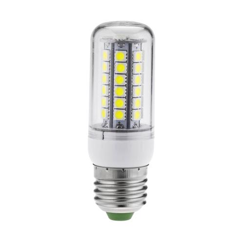 LED Mais Licht E27 7W Birnen Lampe 5050 SMD Beleuchtung 48 LED energiesparende 360 Grad Weiß 220-240V