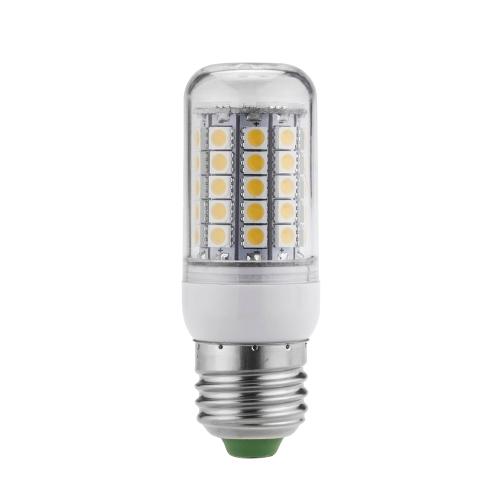 LED Corn Light E27 9W 5050 SMD Bulb Lamp Lighting 59 Leds Energy Saving 360 Degree Warm White 220-240V