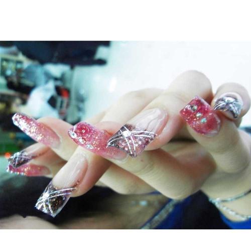 480pcs 12Colors 3D Nail Art Tips Gems Crystal Glitter Rhinestone DIY Decoration + Wheel