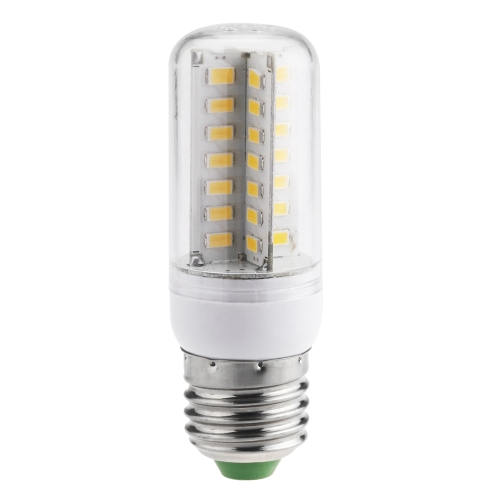 E27 6W 5630 SMD 56 LEDs Energy Saving Corn Light  Lamp Bulb 360 Degree Warm White 200-230V