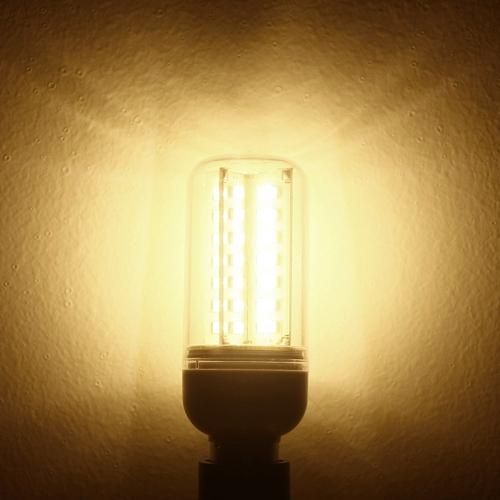 E14 6W 5630 SMD 56 LEDs Energy Saving Corn Light  Lamp Bulb 360 Degree Warm White 200-230V