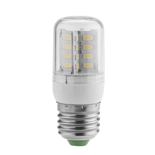 E27 3.5W 5630 SMD 32 LEDs Energy Saving Corn Light  Lamp Bulb 360 Degree Warm White 200-230V